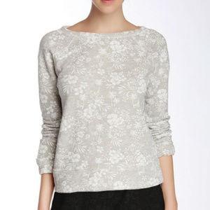 Soft Joie Floral Print Emma Sweatshirt - Medium